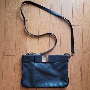 Kate Spade Pebbled Leather Crossbody (Black)